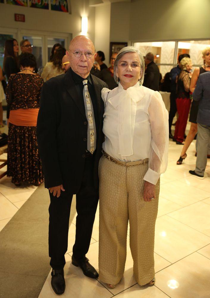 Otto Reyes y Vionette Veray de Reyes. Fotos Jose R. Pérez Centeno.