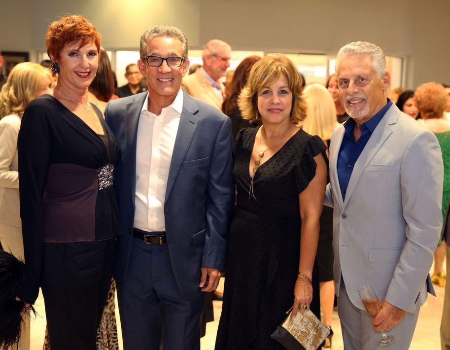 Gigi Vicéns, Braulio Castillo, Lupe Vázquez y Martín Nieves. Fotos José R. Pérez Centeno.