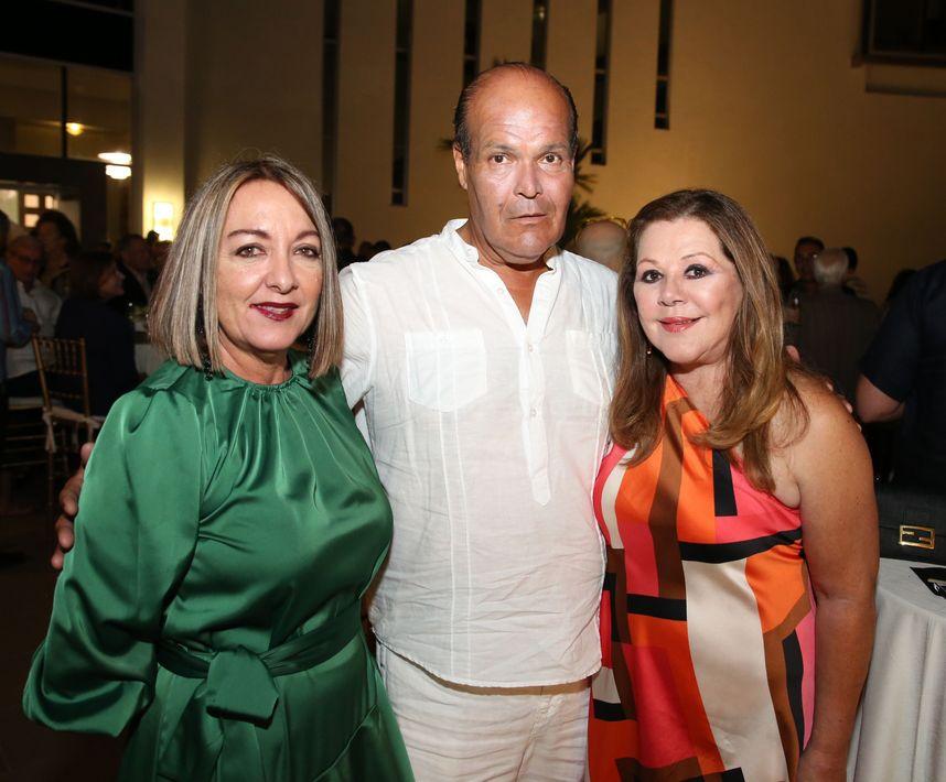 Maite Ribas, Rubén Darío y Sonia Cortés. Fotos José R. Pérez Centeno.