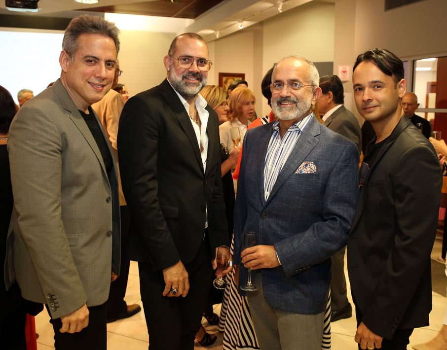 Harry Robles, David Antonio, Rafael Irrizary y Joel Rosa. Fotos Jose R. Pérez Centeno.