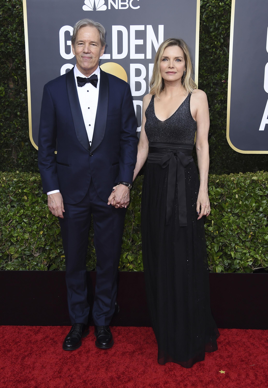 David E. Kelley y Michelle Pfeiffer. (AP)
