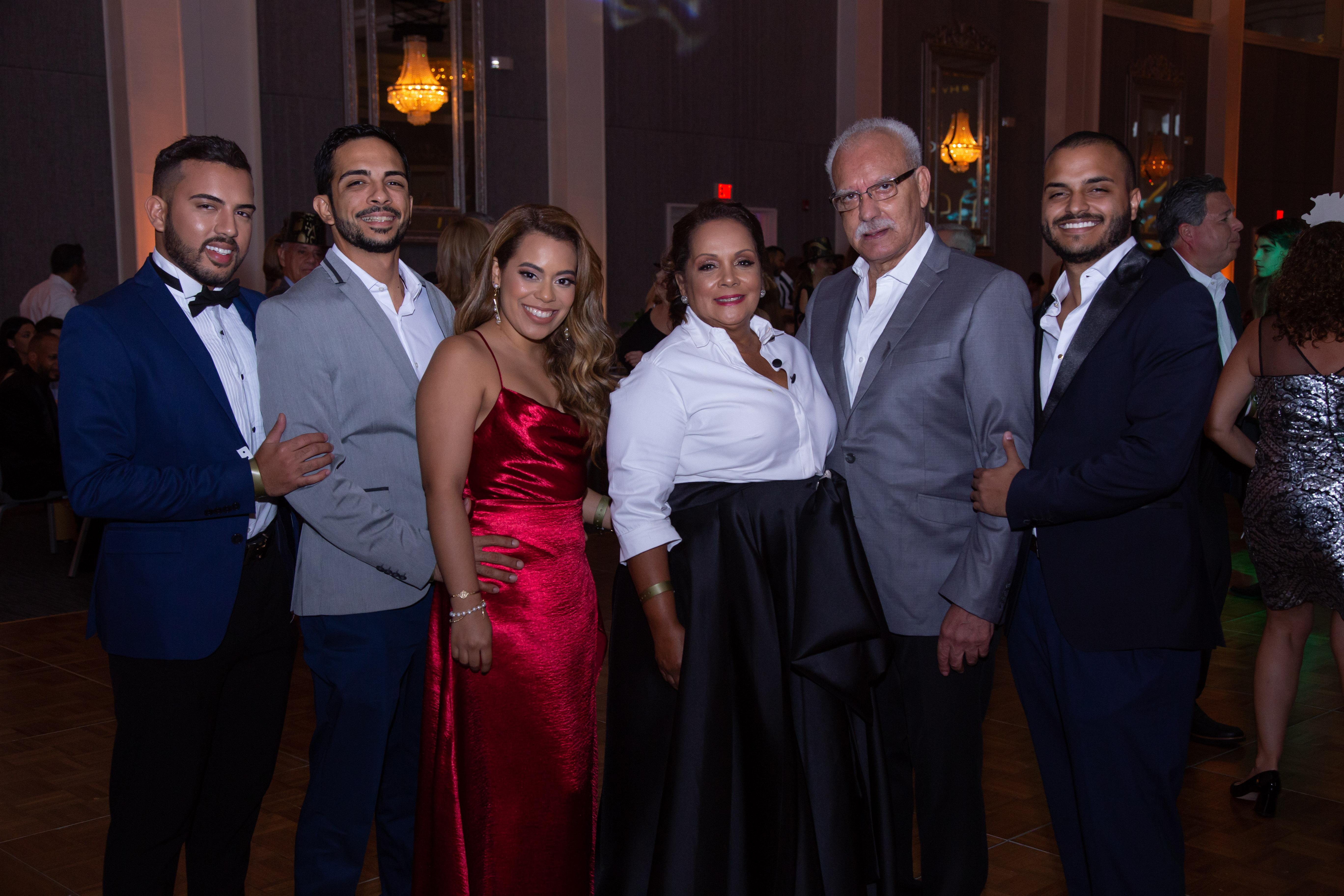 Familia González Rosario. (Suministrada)