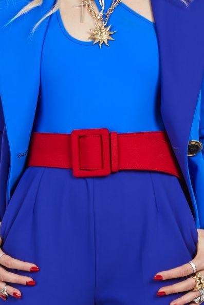 Crea un efecto de bloque de color añadiendo una correa. Moda: Fausto Puglisi. (WGSN)