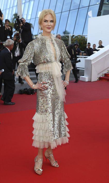 Nicole Kidman en Rodarte. (AP)