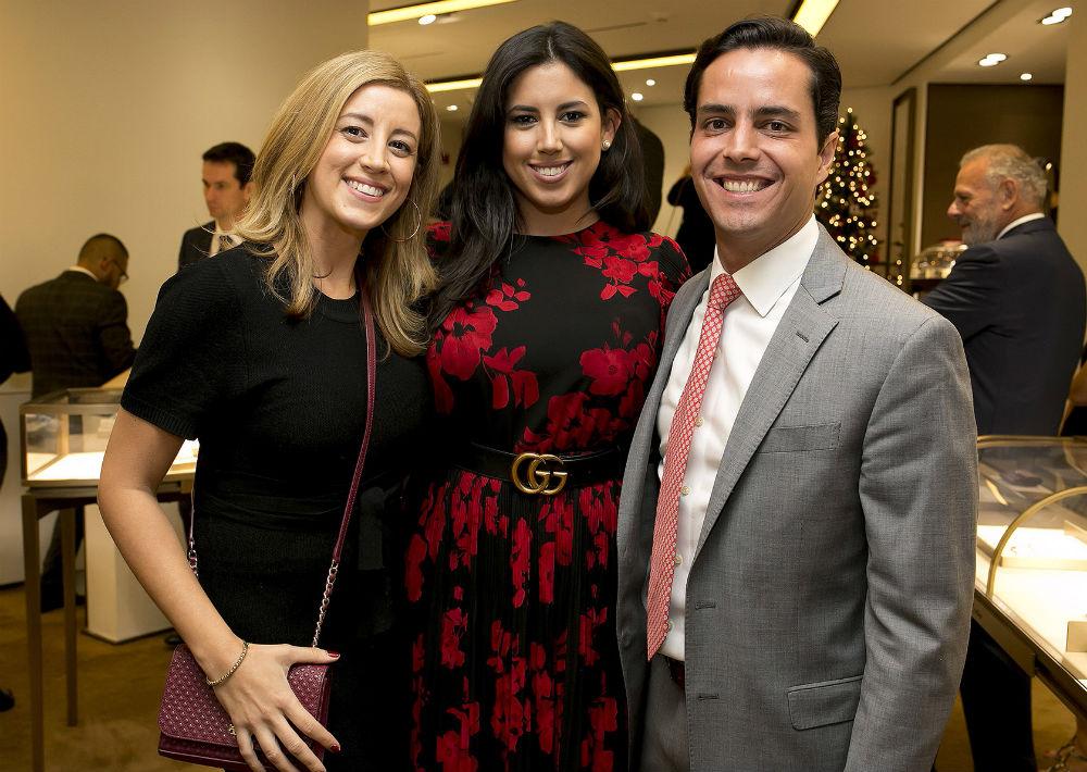 Natalia Palmer, Cristina Palmer y Ernesto Rivera. (Xavier.García)
