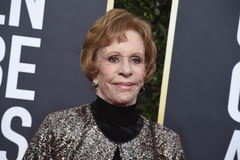 Carol Burnett, quien inspira el premio especial otorgado a Ellen Degeneres. (AP)