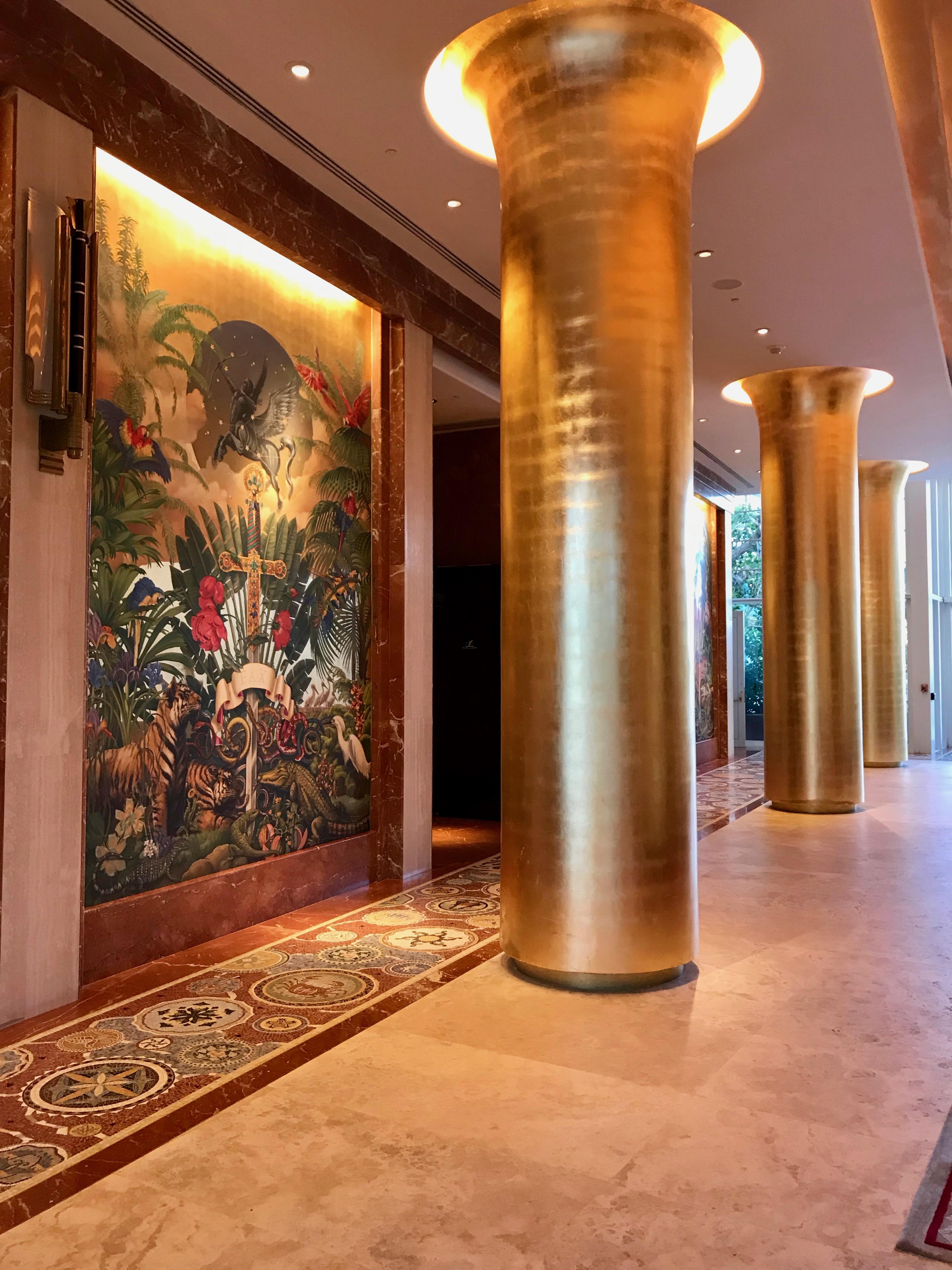 """Hotel Faena """"La Catedral"""", la grandiosa entrada del Hotel Faena, ideado como parte del ambicioso desarrollo del """"Distrito Faena"""", por el promotor y visionario argentino Alan Faena. Te recomiendo una visita para admirar su espectacular diseño, sus obras de arte y su glamour y grandiosidad.Foto suministrada"""