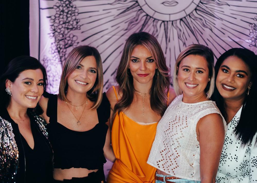 Carolina Bermúdez, Isabel Menéndez, Margarita Álvarez, Natalie Pietri y Loraima Tolentino. (Suministrada)