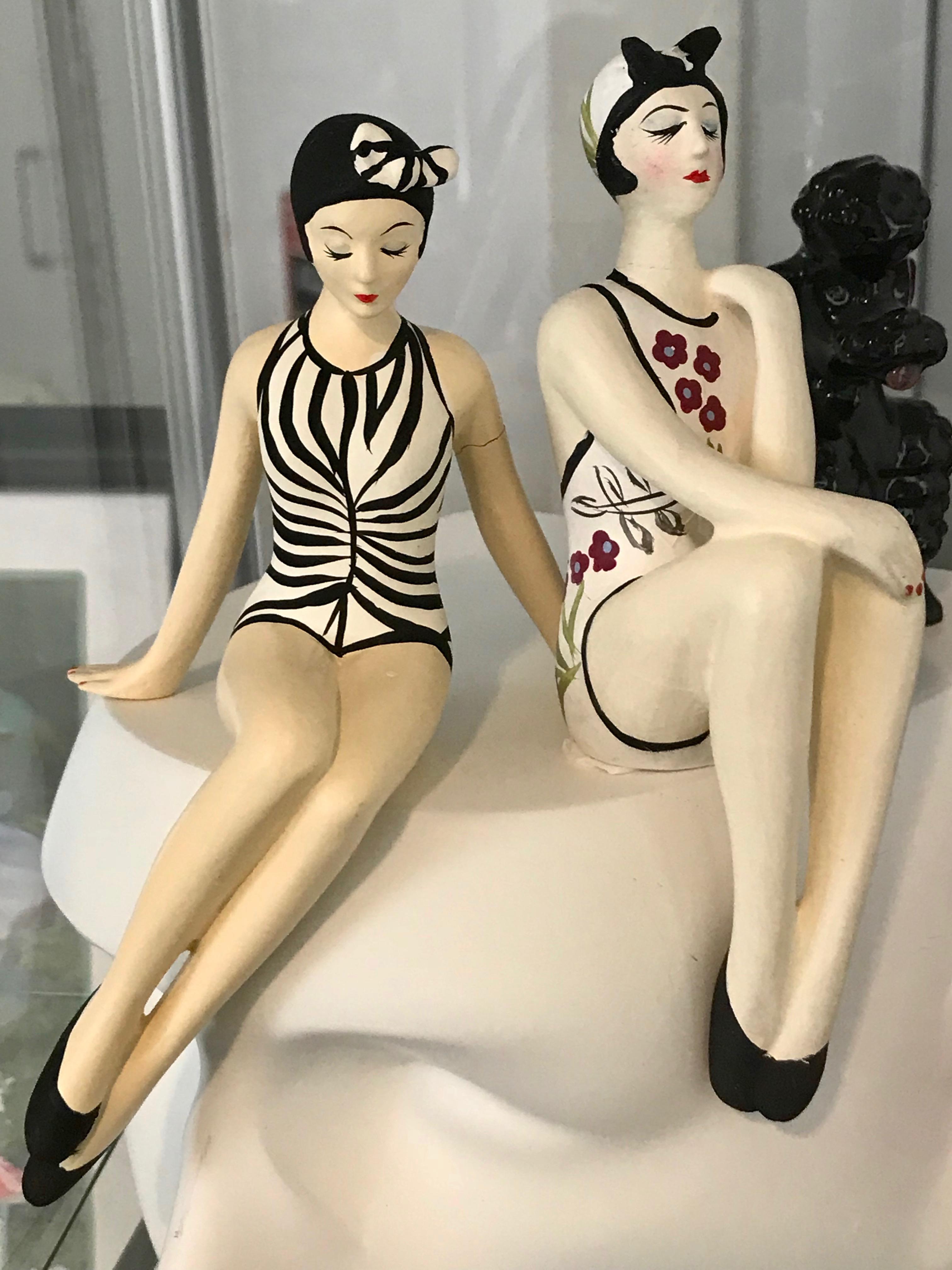 """Figuras Art Deco Para conocer de la historia del Art Deco en Miami, visita el museo del """"Miami Design Preservation League"""", en el corazón del histórico distrito Art Deco. En su tienda encontrarás curiosidades, libros, posters y recordatorios inspirados en el Art Deco. 1001 Ocean Drive, Miami Beach. Foto suministrada"""