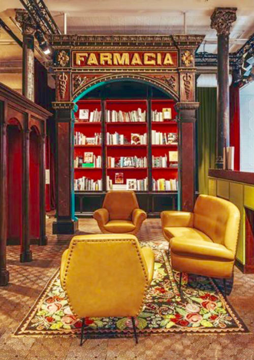 Gucci abrió una librería en su tienda de Wooster, en NY. Curada por Dashwood Books, promete lo mejor en libros de arte, moda, diseño y piezas de colección. 375 West Broadway, New York. (Foto: Suministrada)