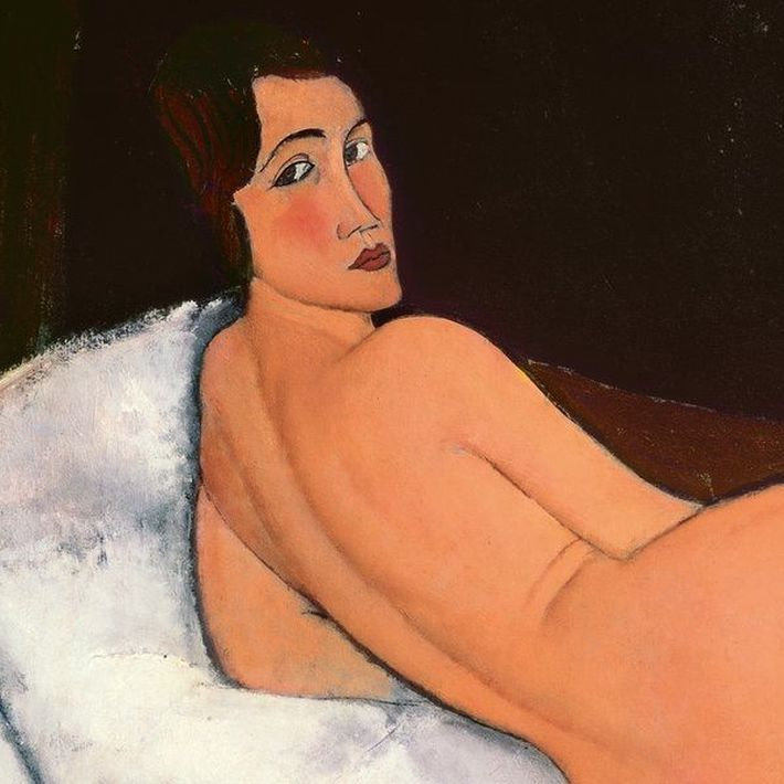Sus famosos desnudos fueron censurados en el Paris de 1917. Hoy forman parte de la fascinante exposición sobre la vida del artista italiano, uno de los grandes exponentes del arte del siglo XX. Modigliani en el Tate Modern de  Londres.
