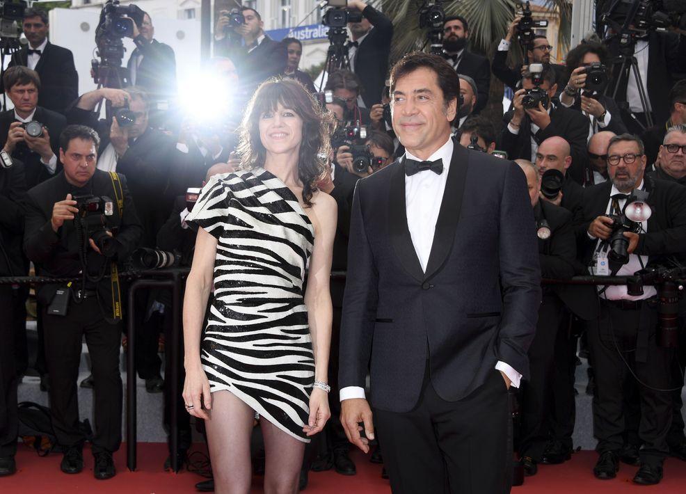 Charlotte Gainsbourg yJavier Bardem declararon oficialmente abierta la 72ª edición del Festival de Cannes. (Photo by Arthur Mola/Invision/AP)