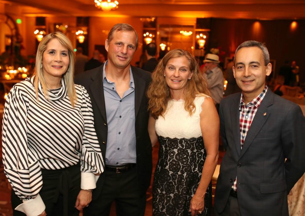 "Natalie Claudio, Michelle y Jeff Stolz y Jose Pachano. (José ""Pepe"" Pérez Centeno)"