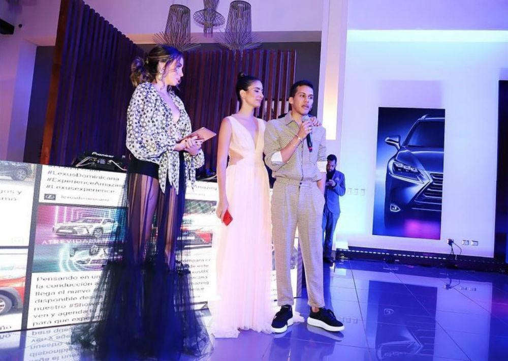 Gabi Desangles, Helen Blandido y Jean Cintrón durante la presentación. (Foto: Suministrada)