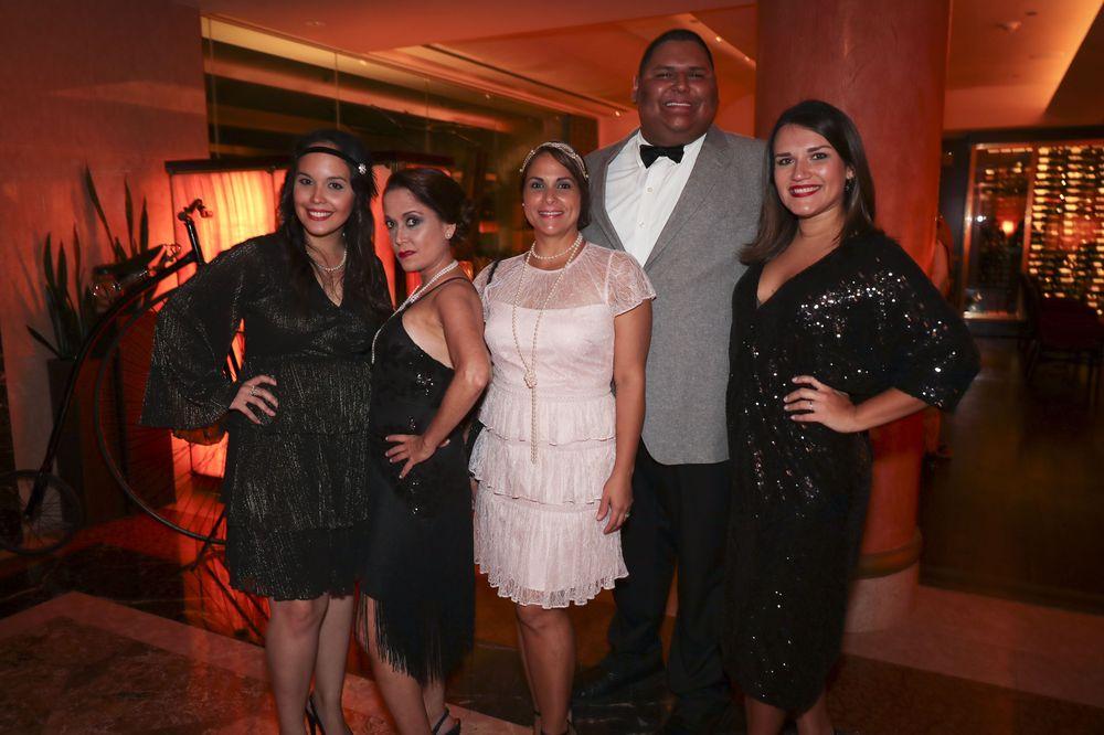 Gabriela Rios, Mariana Hernández, Janice Figueroa, Raúl Sánchez y Paola Soto.Foto suministrada
