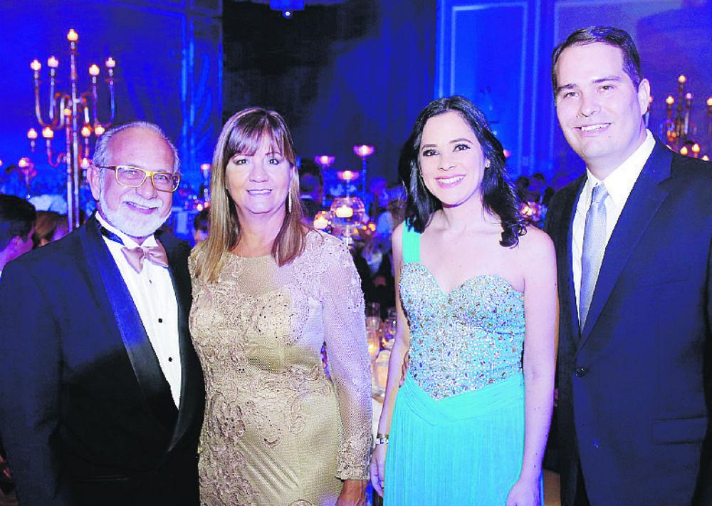 Antonio De Vera, Olga Ramos, Annette Rodríguez y Alberto Goyco.  (José Rafael Pérez Centeno/ Especial para Magacín)