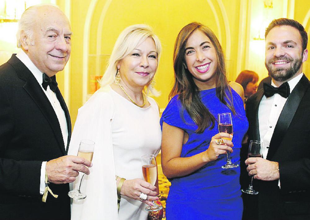 Ángel Muñoz, Ruth Torres, Victoria Muñoz y Carlos Vázquez. (José Rafael Pérez Centeno/ Especial para Magacín)