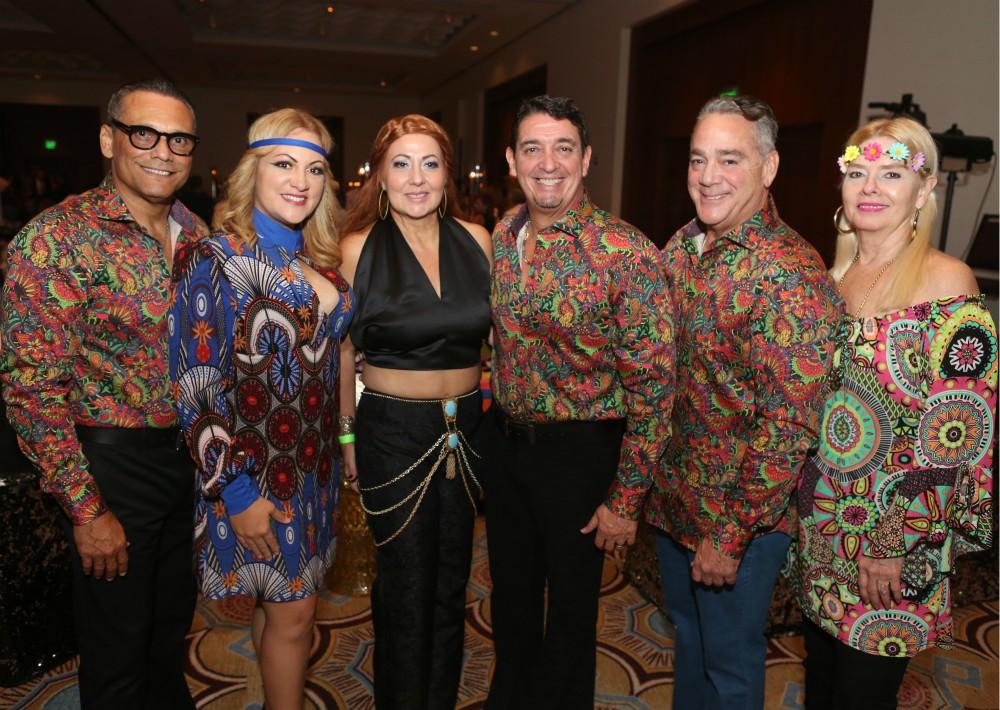 Samuel Rivera, Sharo Negrón, Eileen Rodríguez, José Méndez, Rafael y Glori Nadal. (Foto: José R. Pérez Centeno)