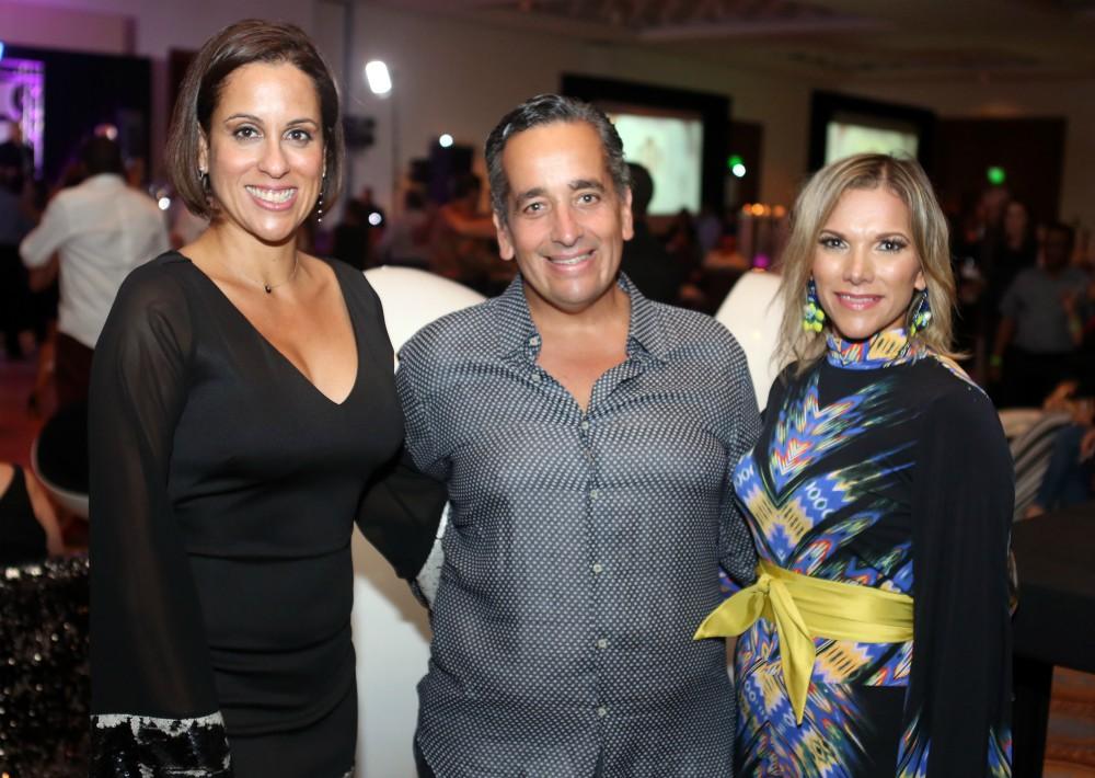 Fabiola Ansótegui, Juan Ernesto Ayala y Maypi Rodríguez. (Foto: José R. Pérez Centeno)