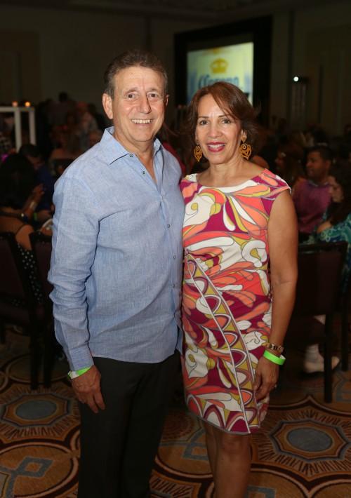 Ángel y Janet Sáez. (Foto: José R. Pérez Centeno)