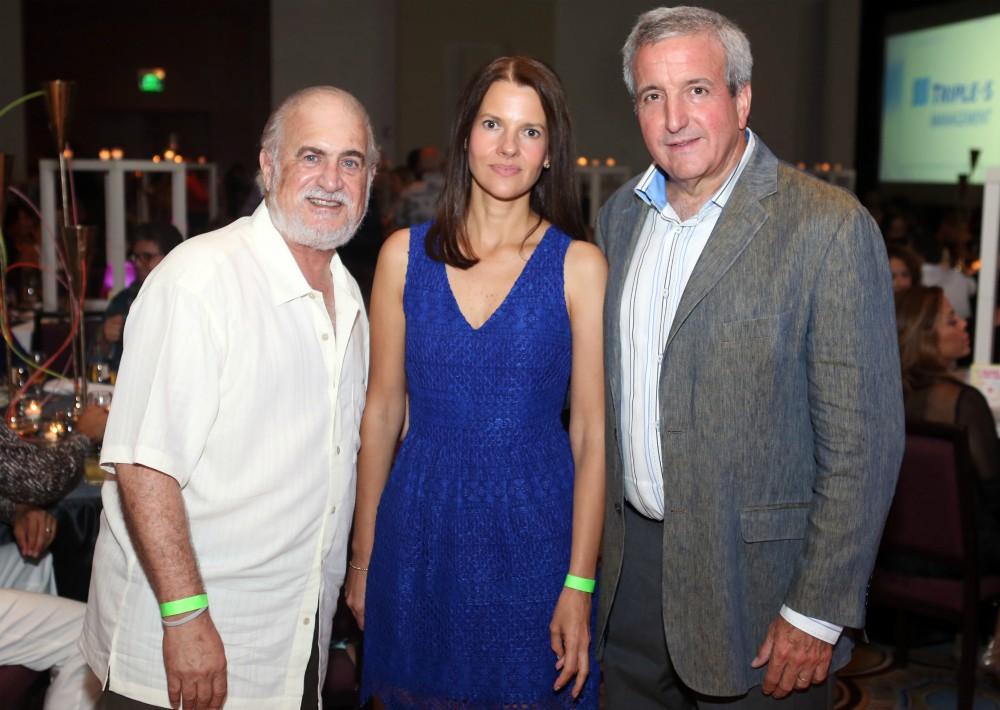 Jerry Rivas, Gabriela y Luis Álvarez. (Foto: José R. Pérez Centeno)