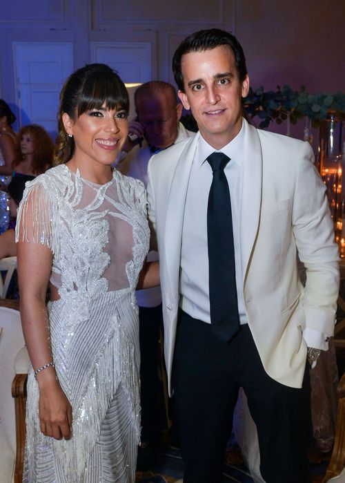 Liz Martí y Andro Nodarse.