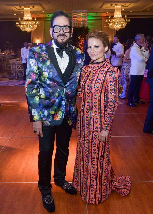 Eddie Guerrero y Zaymara Rivera.