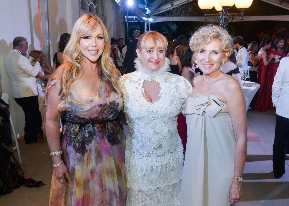 Sandra Torres, Lisa Cappalli y Margarita Fullana.