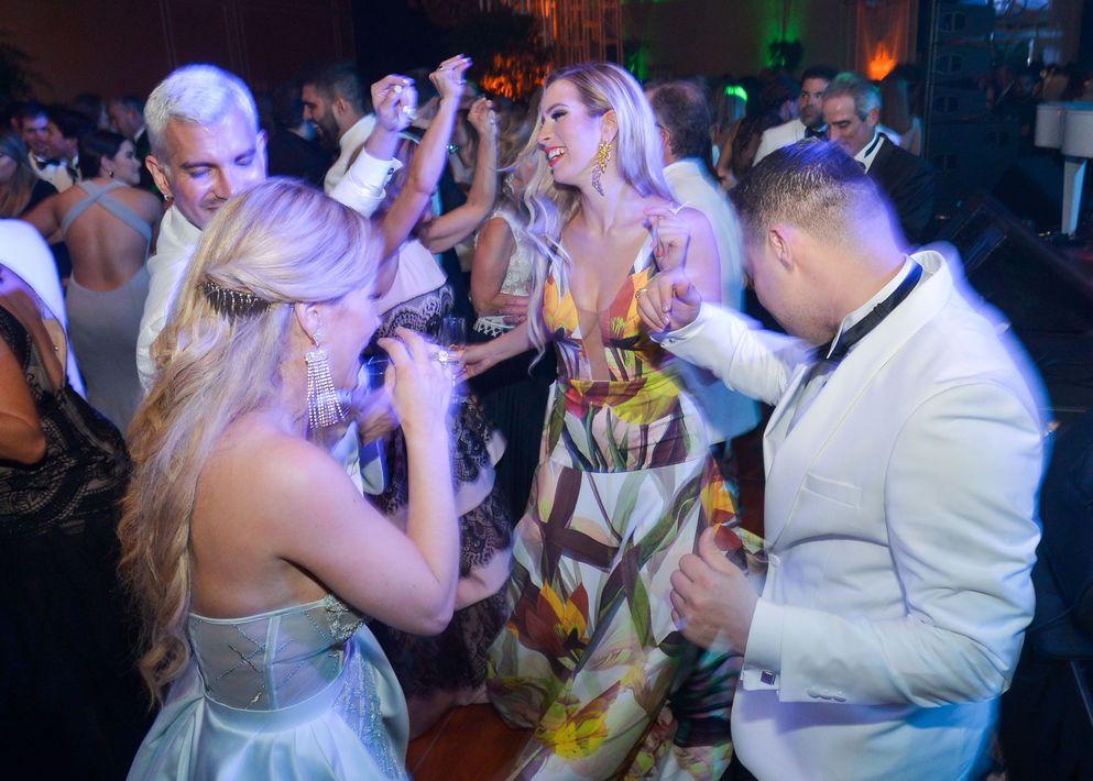 Vista del ambiente festivo en la Gala del Museo de Arte de Puerto Rico en El San Juan Hotel.La oferta musical estuvo a cargo de Pedro Guzmán y Jíbaro Jazz, Cien del Cielo y Manolo Mongil.
