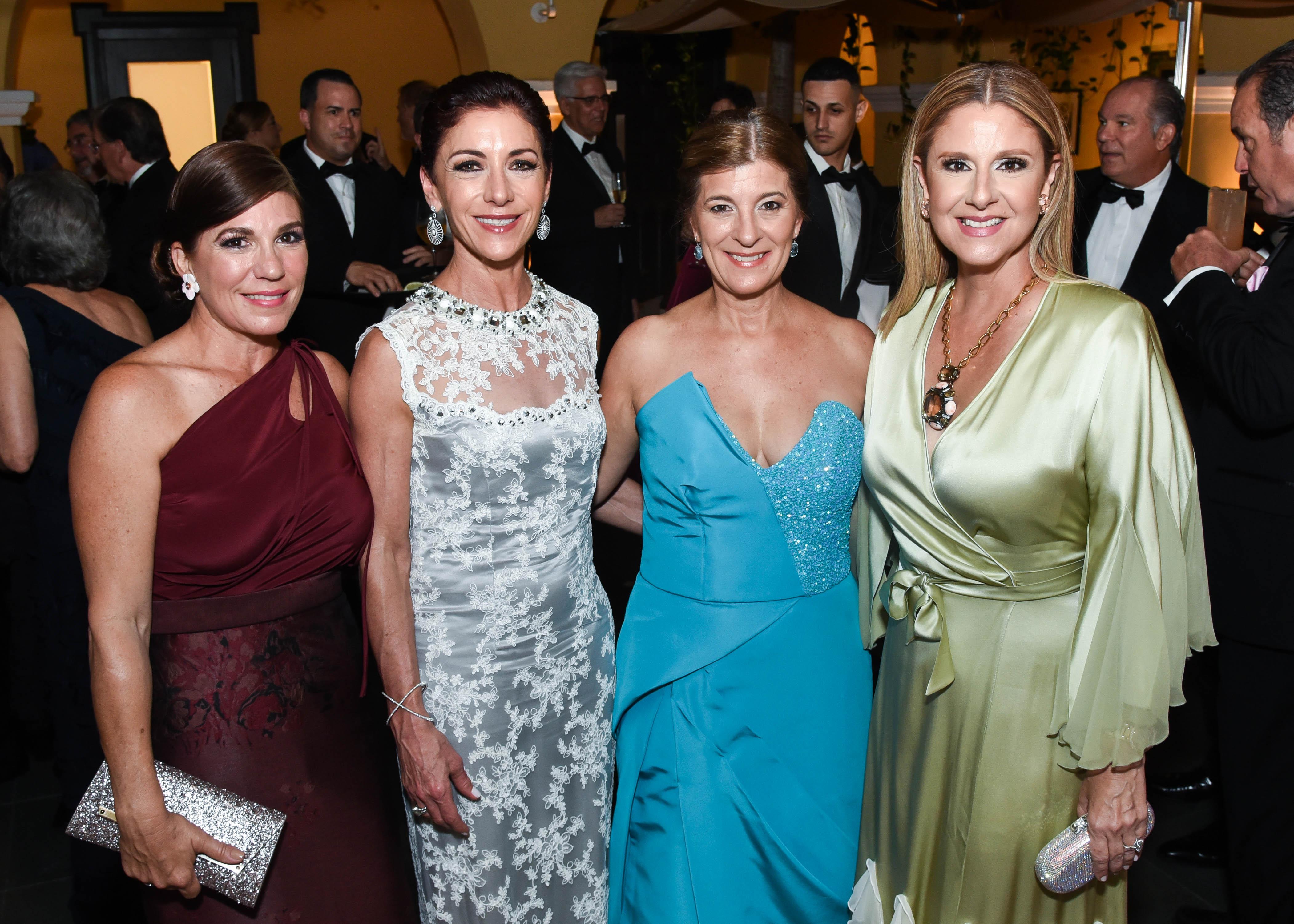 Emilia Abislaiman, Violi Casellas, Nicole Mier y Mercedes Corrada. (Enid M. Salgado Mercado)
