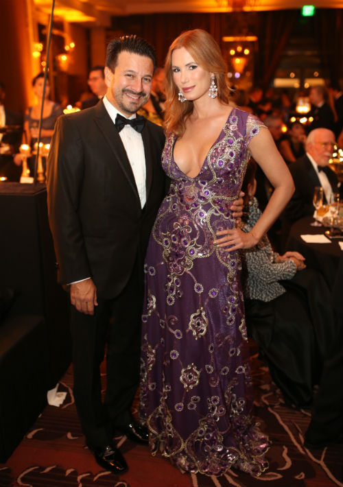 Roberto Cardona y Desiree Lowry. (Foto: José Rafael Pérez Centeno)