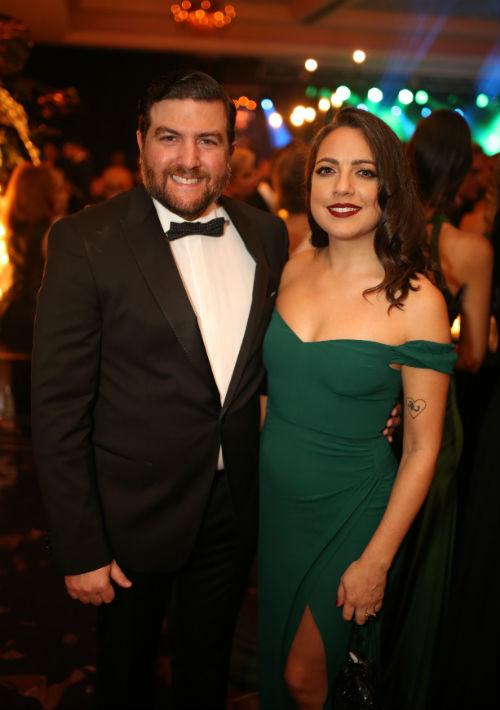 Antonio Duarte y Brenda Ayala. (Foto: José Rafael Pérez Centeno)