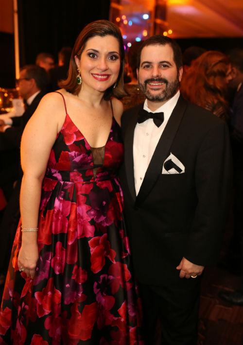 Laura Cantero y Jose Merheb. (Foto: José Rafael Pérez Centeno)