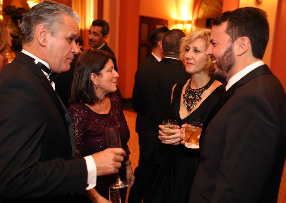 Adrián Rivera, Ane Robledo, Juliana Castillo y Jorge Martel. (Foto: José Rafael Pérez Centeno)