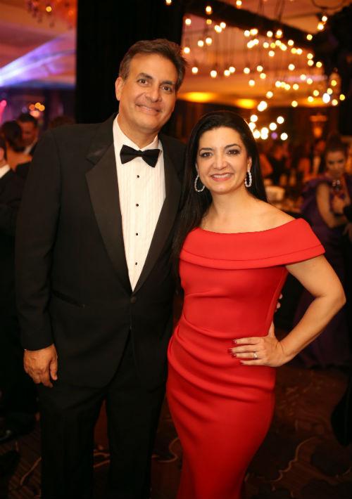 Eduardo Bathia e Isabel Fernández. (Foto: José Rafael Pérez Centeno)