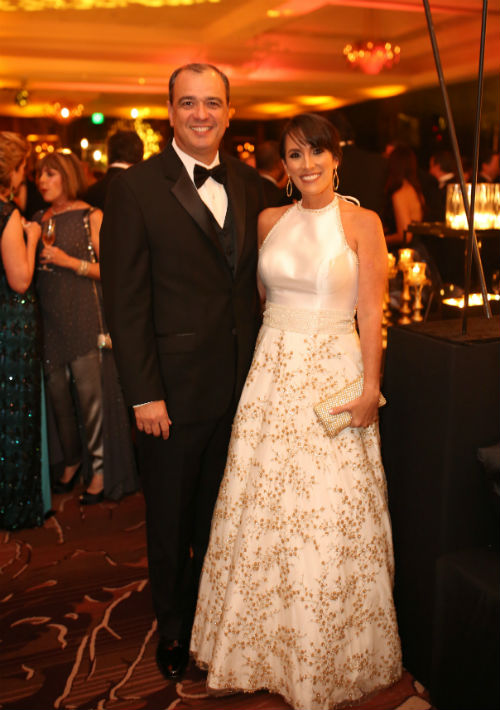 Angel Vázquez y Mónica Fernós. (Foto: José Rafael Pérez Centeno)