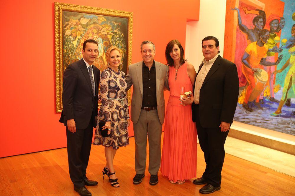 Carlos Dávila, Vanessa Rodríguez, Tony Larrea, Annelisse Molini y Carlos López Vilella. (Foto: José R. Pérez Centeno)