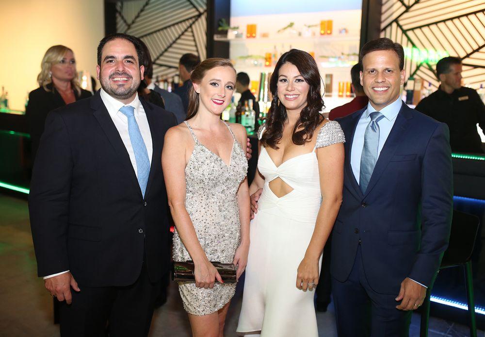 Cristian Sobrino, Estefanía Quiroz, Valerie Rodríguez y Elías Sánchez. (Foto: José R. Pérez Centeno)