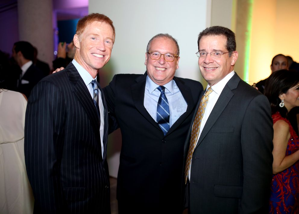 Michael McDonald, Juan Mario Álvarez y Danilo Ondina. (Foto: José R. Pérez Centeno)