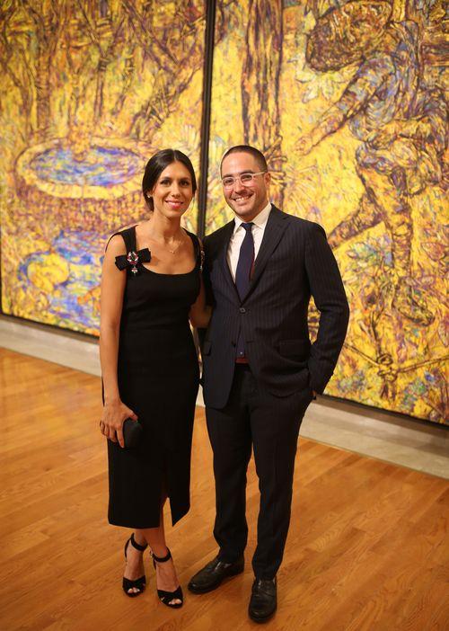 María Consuelo Santiago y Ricardo Lozada. (Foto: José R. Pérez Centeno)
