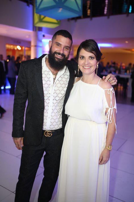 Bobby Cruz y Marta Mabel Pérez. (Foto: José R. Pérez Centeno)