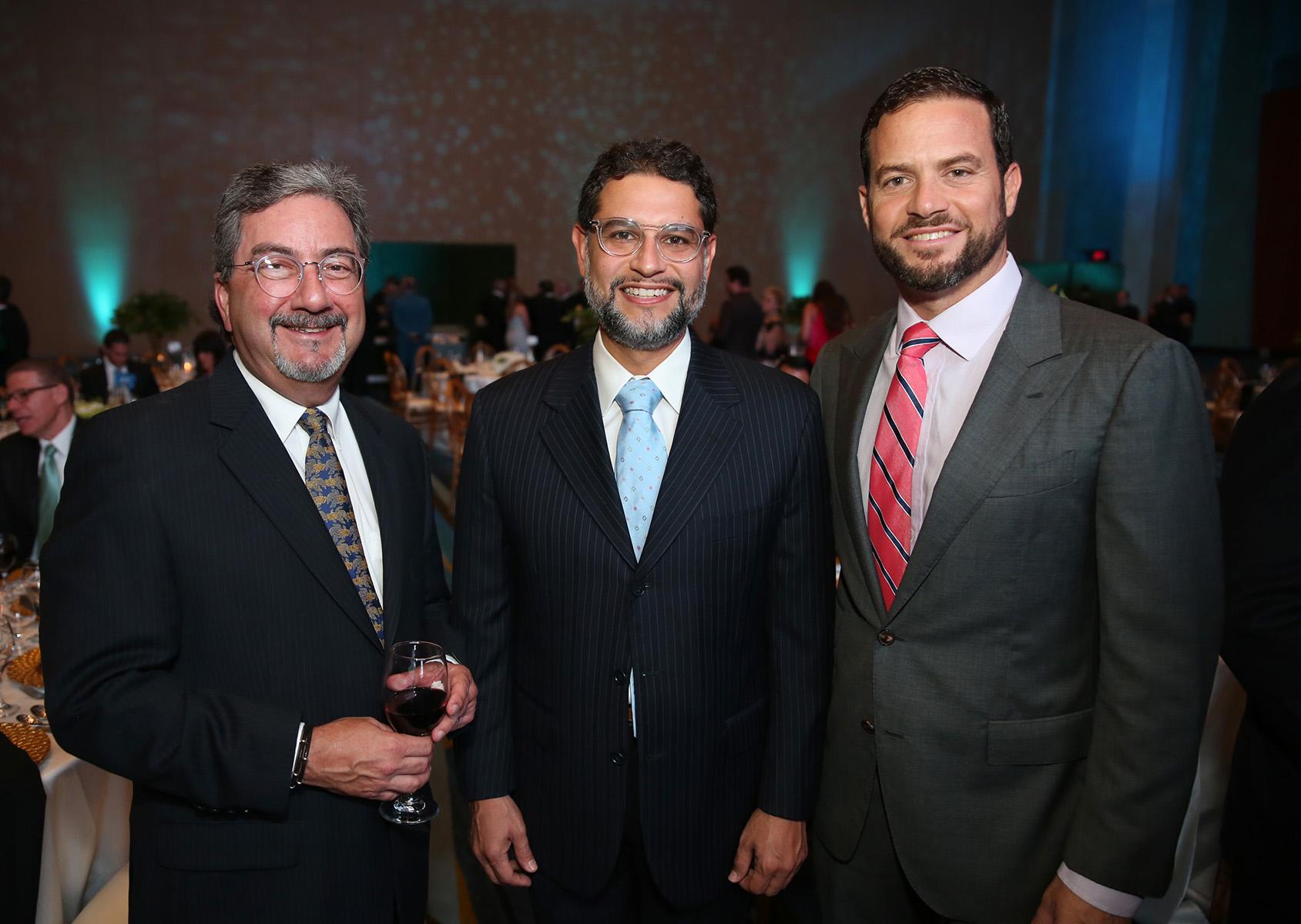 Ángel Torres, Ángel Santiago y Walberto Rodríguez. (José Rafael Pérez Centeno)