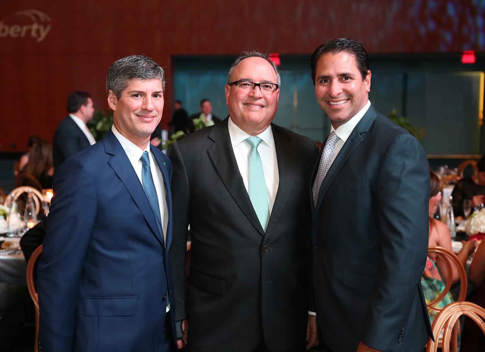 José Canino, Alfredo Soegaard y  Raulito De Pedro. (José Rafael Pérez Centeno)