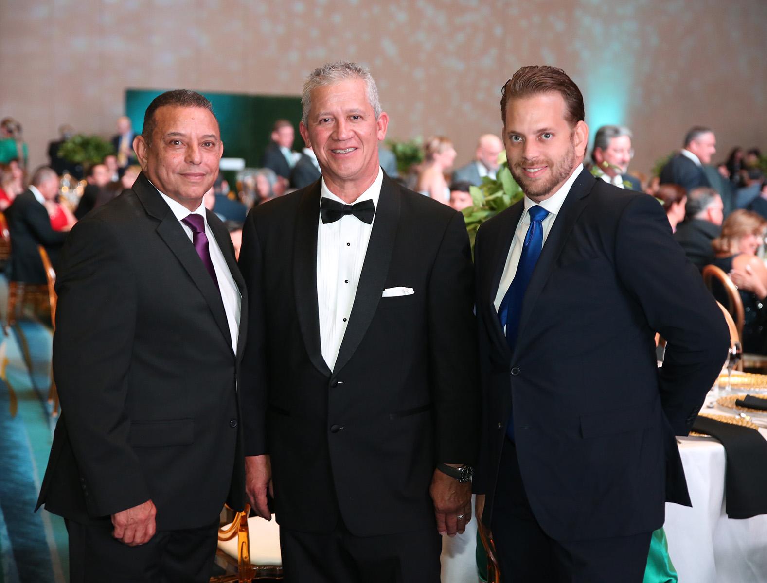 Rafael O'Ferrall, José Morales y Gian O'Ferrall. (José Rafael Pérez Centeno)