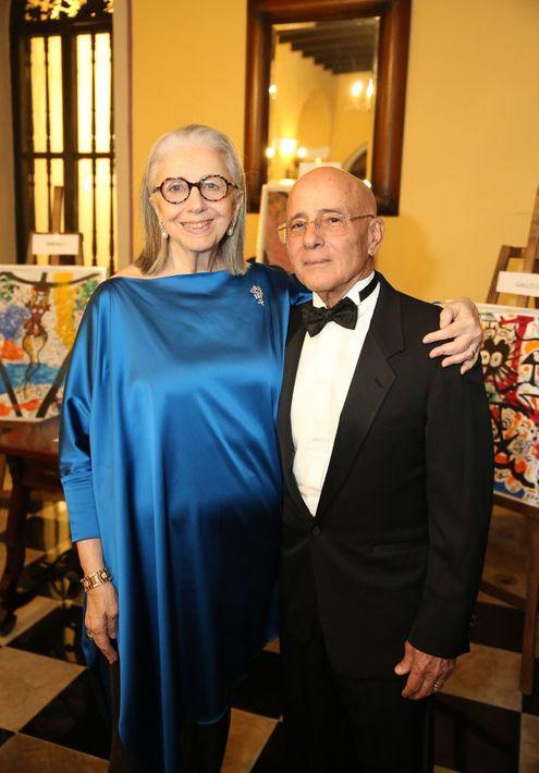 Marie Helene Morrow y Ricardo González. Foto José R. Pérez Centeno