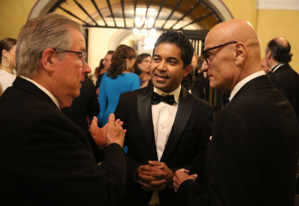 Al centro, Fahad Ghaffar. Foto José R. Pérez Centeno