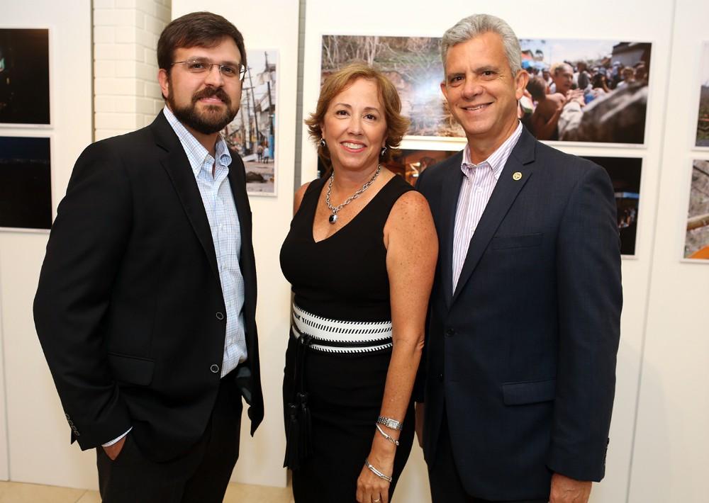 Jaime Luis Fonalledas, Lorraine Vissepó y Rafael Ruiz. (Foto: José R. Pérez Centeno)