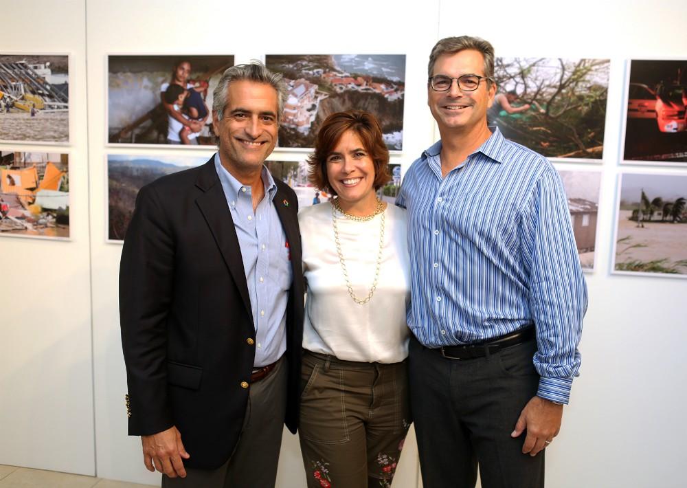 Luis Alberto Ferré Rangel, María Eugenia Ferré Rangel y Antonio Luis Ferré Rangel. (Foto: José R. Pérez Centeno)