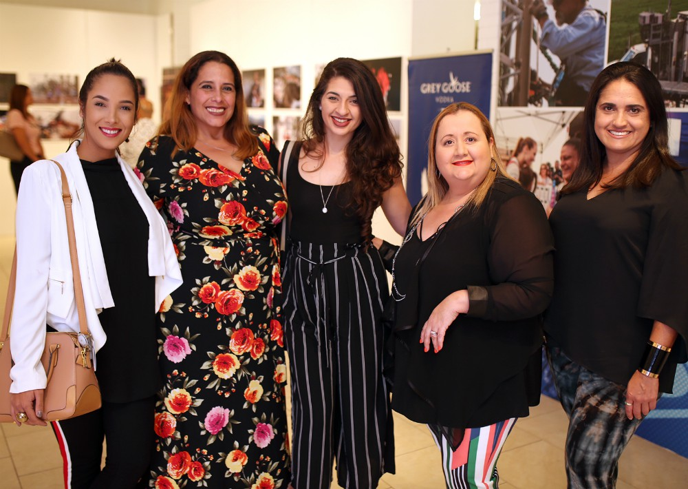Leymar Pérsico, Carmen Rivera, Grinoshka Bou, Alexa Caraballo y Joana Santiago. (Foto: José R. Pérez Centeno)