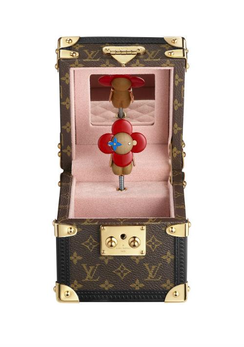 Caja de música Vivienne de Louis Vuitton. (Foto: Suministrada)